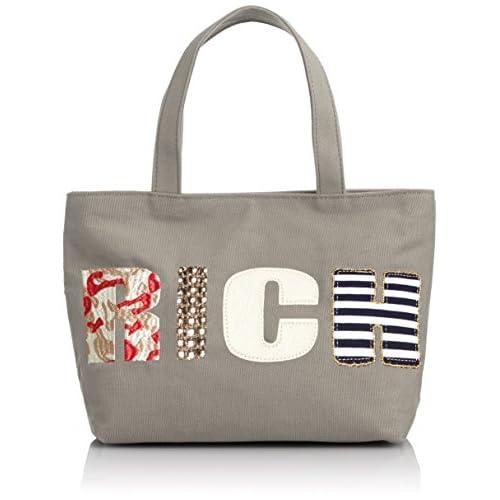 [クーコ] COOCO(クーコ) ロゴ刺繍キャンバストート 27103042 03 (グレー)
