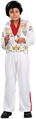 Rubie's Costume Co - Deluxe Elvis Toddler / Child Costume - Toddler - White