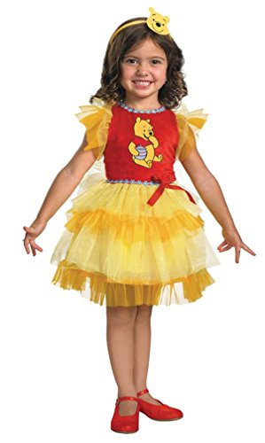 Toddler/child Disney Frilly Winnie the Pooh Costume (2T)