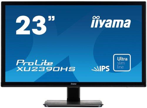 iiyama XU2390HS-B1 Ecran PC LED 23' (58,42 cm) 1920 x 1080 5 ms VGA/DVI/HDMI Noir