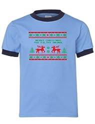 Festive Threads Christmas Sweater T Shirt
