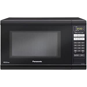 Panasonic NN-SN651B 1.2 Cubic Feet Genius Sensor Microwave with Inverter Technology, 1200-watt