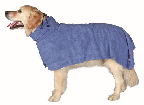 Trixie Dog accappatoio, L, 60cm, Blu