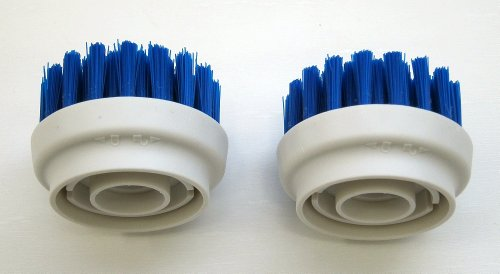 2-Pack Hard Bristle Brush For Metapo Tokuyi Power Scrubber Ps100 And Ps200, Etc back-58223