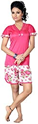 Go Glam Womens Top and Shorts Set