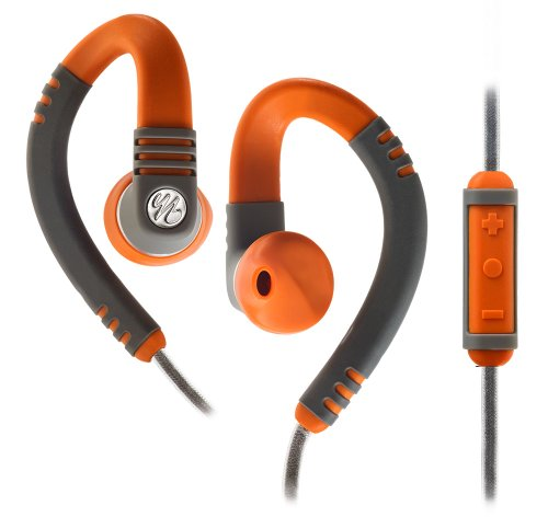 Yurbuds Explore Pro Sport Microphone Earphones Orange