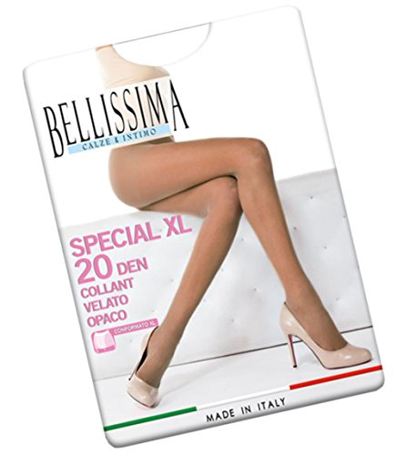 COLLANT DONNA BELLISSIMA ART SPECIAL 20 COLORE E MISURA A SCELTA (5, VISONE)