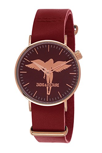Zadig & Voltaire ZV 112/2LL Urban  - Wristwatch Women's, Leather, Band Colour: Red