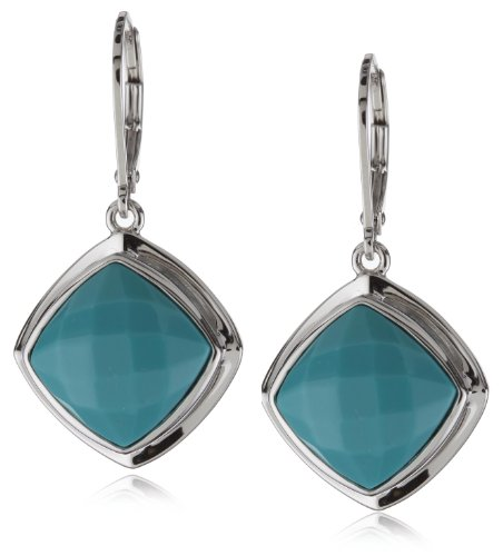 ELLE Jewelry turquoise Sterling Silver Earrings