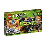 LEGO Ninjago Fangpyre Truck Ambush 9445 - Zane's Snowmobile, Golden Fangpyre Staff And 4 Weapons