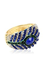 Amrita Singh Brazalete Peacock Feather Cuff