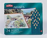 Derwent Artists Tin 24 Pencils