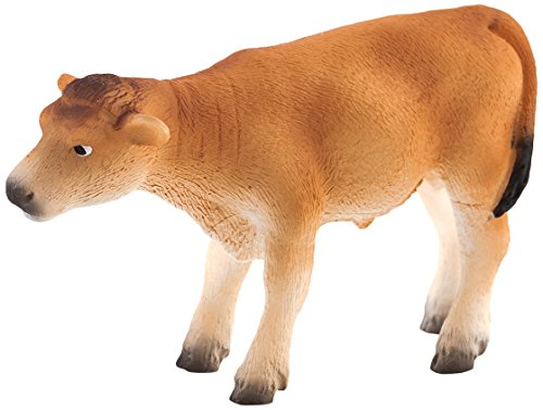Mojo Fun 387147 Jersey Calf Standing - Realistic Farm Animal Toy Cow Replica - New for 2013!