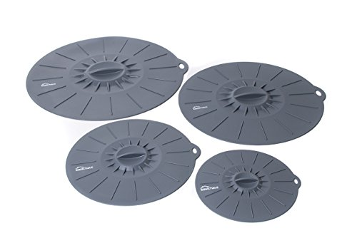 Basic Haus Microwave Cover Silicone Lids - Set of 4: 6