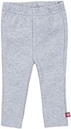 Zutano Baby Girls\' Heathered Skinny Legging, Gray, 12 Months