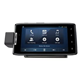 Motorola HD Station with HDMI Cable and Rapid Wall Charger for DROID RAZR - Retail Packaging - Black