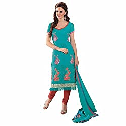 Ashika Printed Salwar Suit Dupatta (Unstitched) Dress Material (8528)
