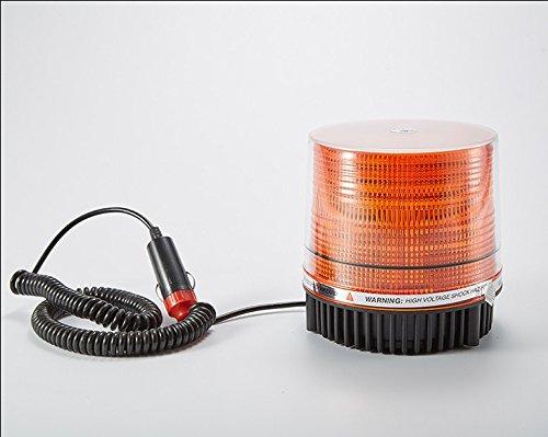12-v-24-v-30-led-veicolo-sul-tetto-faro-lampeggiante-aratro-ambra-8-w-base-magnetica-stick