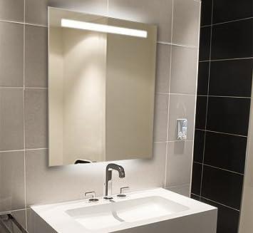 Miroir salle de bain bain illumin 800 x 600 gamme halo halo 9017 cuisine maison m312 - Miroir salle de bain chauffant ...