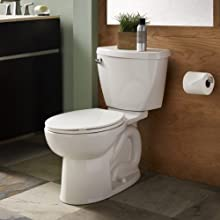 American Standard Cadet-3 FloWise Elongated Two-Piece Toilet with High Efficiency