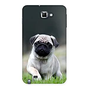 Unicovers Pug Dogo Back Case Cover for Galaxy Note