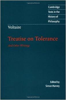 Voltaire treatise on tolerance