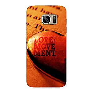 Special Love Movement Back Case Cover for Galaxy S7