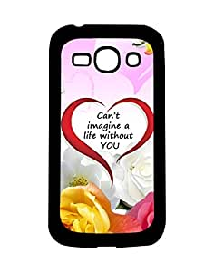 Mobifry Back case cover for Samsung Galaxy Ace 3 Mobile (Printed design)
