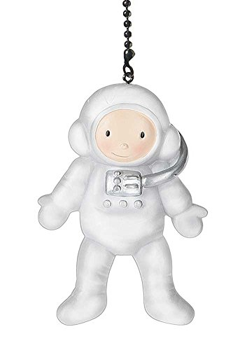 Pretend Play Fictional Character Child kid Ceiling fan pull light chain extender ornament (Astronaut) (Character Ceiling Fans compare prices)