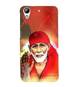Shirdi Sai Baba Cute Fashion 3D Hard Polycarbonate Designer Back Case Cover for HTC Desire 728 Dual Sim :: HTC Desire 728G Dual Sim