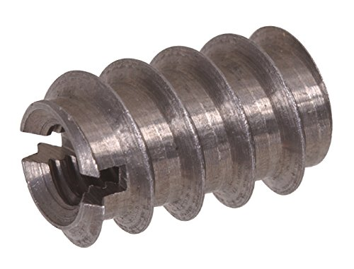 The Hillman Group 57115 8-32 x 0.315-Inch Slotted Insert Nut, 12-Pack (8 32 Brass Inserts compare prices)