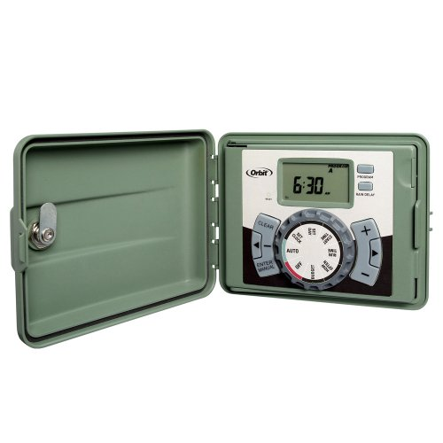 Orbit 57899 9-Station Outdoor Swing Panel Sprinkler System Timer picture