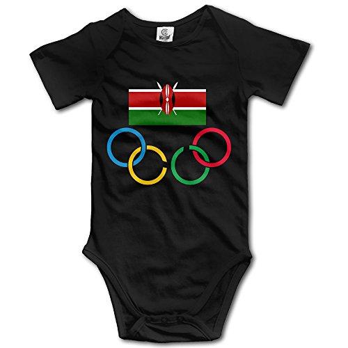 Kenya Olympic Team Black Geek Short Sleeves Variety Baby Onesies Bodysuit For Babies Size 18 Months (Kenya Ford compare prices)