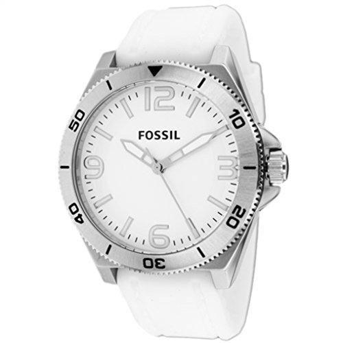 Fossil Hombre Reloj de pulsera analógico cuarzo silicona bq1173