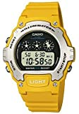 Casio #W214H-9AVCF Men's Chronograph Alarm LCD Digital Sports Watch