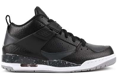 Jordan Flight 45 Men's Basketball Shoes 644846-005 Size 10 D (Standard Width) Black/White-Anthracite-Wolf Grey