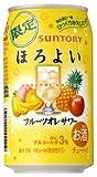 【2014年10月14日 限定発売】サントリーほろよい フルーツオレサワー 350mlx24本(1ケース)