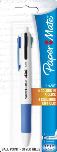 paper-mate-4-ball-ball-pen-assorted-standard-colours