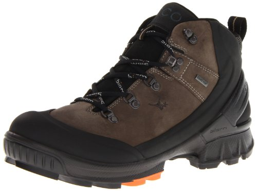 Ecco Mens Biom Hike Black/Warm Grey Calder/Yak O.N Boots Black Schwarz (BLACK/WARM GREY) Size: 44