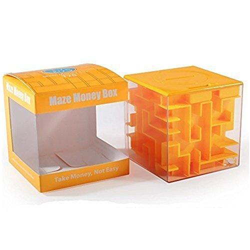 SainSmart Jr. Amaze CB-22 Cube Money Maze Bank, Yellow (Monster Truck Floor Puzzle compare prices)