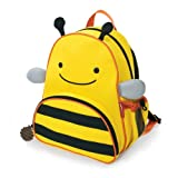 Skip Hop Zoo Pack Little Kid Backpack, Bee