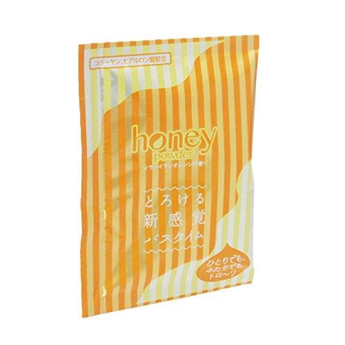끈적끈적 입욕 제【honey powder】(허니 파우더) 2 개세트 이란이란 오렌지 의 향기 분말 타입 (03-15)