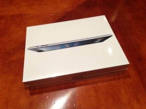 Apple iPad 4th Generation, with Retina Display, 64GB WiFi only Black