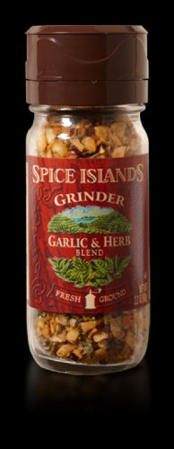 Spice Islands Grinder Garlic & Herb Blend Seasoning Fresh Ground 2.2 Oz. (Pack of 2) (Spice Islands Grinder compare prices)