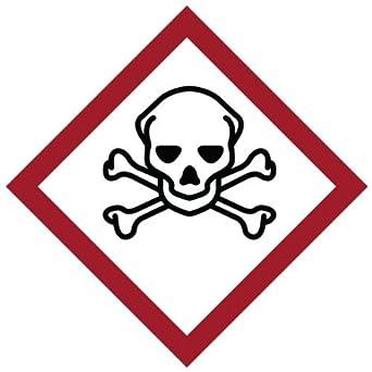 118900 Coated Paper GHS graves etiquetas Picto tóxicos