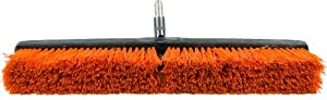 INTELETOOL INTELEBROOM STIFF 611 Interchangeable Light Duty 24 Inch Stiff Bristle Push Broom Head 1st VERSION-NOT COMPATIBLE WITH IMPROVED VERSION (Discontinued by Manufacturer)