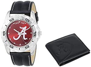 Game Time Unisex COL-WWS-ALA2 Wallet and University of Alabama A Logo College Watch... by Game Time