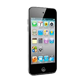 Apple iPod touch 32GB MP3 Player (4th Generation) with Touch Screen, Black $207.76