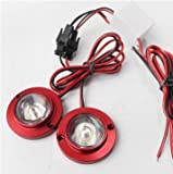 Last for One 2x Car Motorcycle High Power LED Decorative Strobe Flash Brake Tail Light Lamp