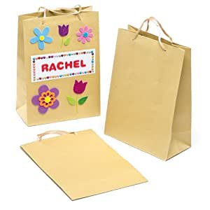 Craft gift bags for children to decorate and for Bag decoration games